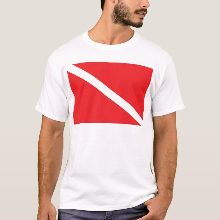 SCUBA Dive Flag Men's T-Shirt