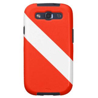 Scuba Dive Flag Samsung Galaxy S3 Cases