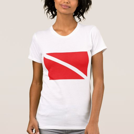 SCUBA Dive Flag T-Shirt Tshirts