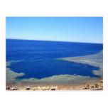 Scuba Dive Spot Blue Hole Post Card