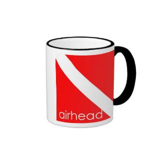 Scuba Diver Airhead Coffee Mug