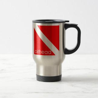 Scuba Diver Airhead Coffee Travel Mug