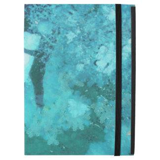 "Scuba diver and bubbles iPad pro 12.9"" case"
