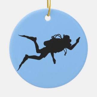 Scuba Diver Christmas Ornament