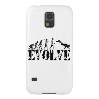 Scuba Diver Diving Evolution Sports Art Case For Galaxy S5