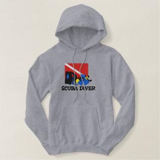 SCUBA Diver Embroidered Sweatshirt
