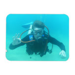 Scuba Diver Flexible Magnet