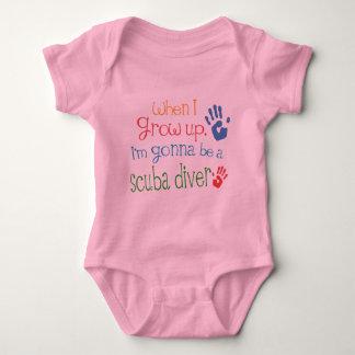Scuba Diver (Future) Infant Baby T-Shirt