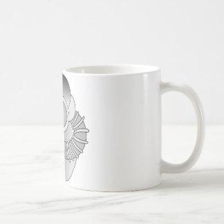 Scuba Diver Graphic Classic White Coffee Mug