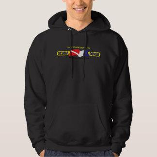 Scuba Diver Hooded Sweatshirt