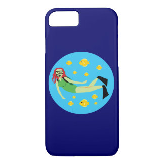 Scuba Diver iPhone 7 Case