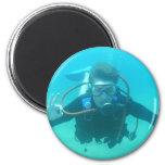 Scuba Diver Magnet