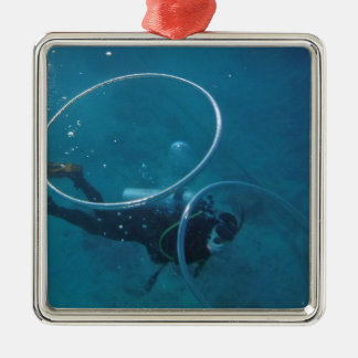Scuba Diver Metal Ornament
