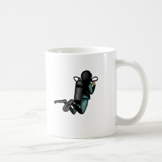 Scuba Diver Classic White Coffee Mug