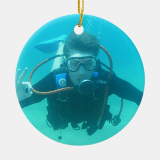 Scuba Diving Christmas Ornaments