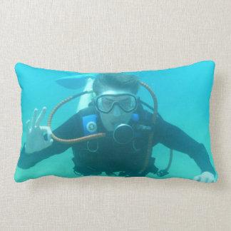 Scuba Diver Pillow