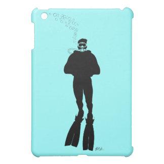 Scuba Diver Silhouette (Man) iPad Mini Case