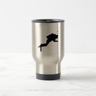 Scuba Diver - Travel Mug