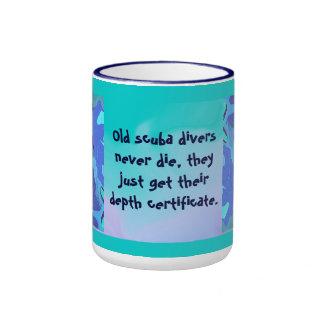 scuba divers mug humor
