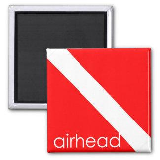 Scuba Diving - Airhead Magnet