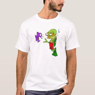 Scuba Diving Alien T-Shirt