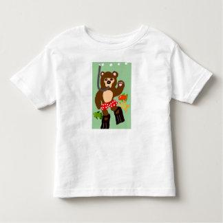 Scuba Diving Bear Toddler T-shirt