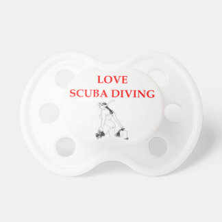 scuba diving BooginHead pacifier