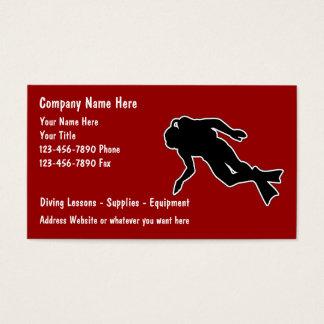 Scuba Diving Business Cards