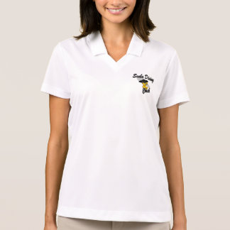 Scuba Diving Chick #4 Polo Shirt