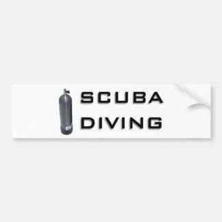 Scuba  Diving design! Bumper Sticker