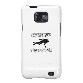 SCUBA DIVING designs Samsung Galaxy S2 Cases