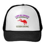 Scuba diving designs hat