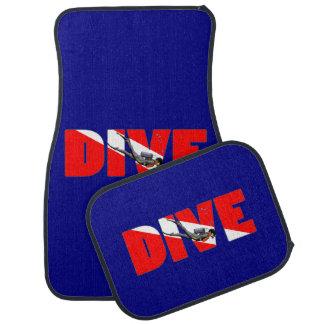 Scuba Diving DIVE Car Mat