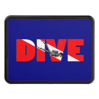 Scuba Diving DIVE Tow Hitch Cover