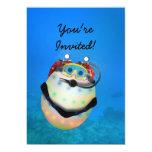 "Scuba Diving Easter Egg 5"" X 7"" Invitation Card"