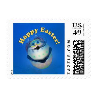 Scuba Diving Easter Egg Downunder Stamps
