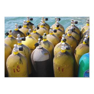Scuba Diving Equipment  Invitation