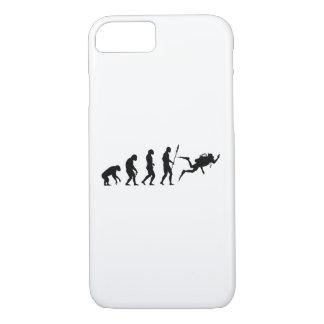 scuba diving evolution iPhone 7 case