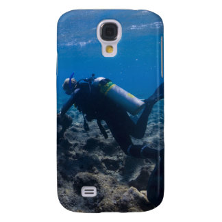 Scuba Diving Excavation Samsung Galaxy S4 Cover