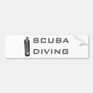 Scuba Diving exclusive design!! Bumper Sticker