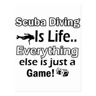 Scuba Diving gift items Postcard
