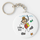 Scuba Diving Gift Key Chain