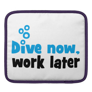 Scuba Diving iPad Sleeves