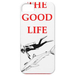 scuba diving iPhone SE/5/5s case