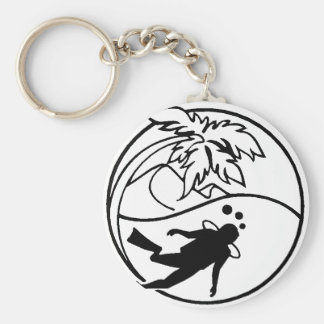 Scuba Diving Keychain