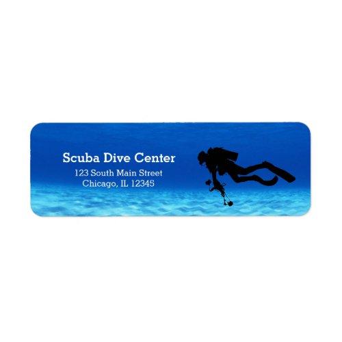 Scuba Diving Label