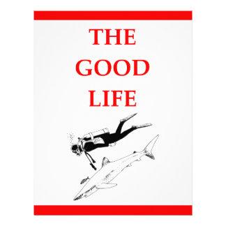 scuba diving letterhead