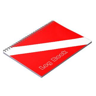Scuba Diving Log Book Notebook