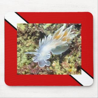 Scuba Diving Nudibranch - Mousepad