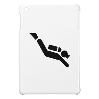 Scuba Diving Pictogram iPad Mini Case